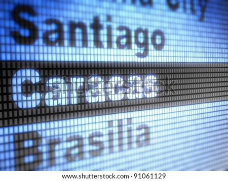 Caracas.