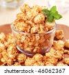Caramel corn - stock photo