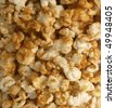 caramel popcorn detail - good for use as background - stock photo