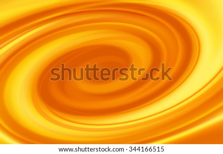 Caramel swirl abstract spiral background - stock photo