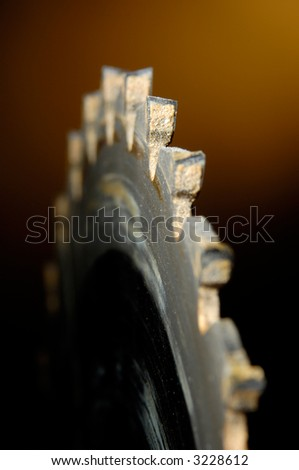 Carbide Table Saw Blade - stock photo