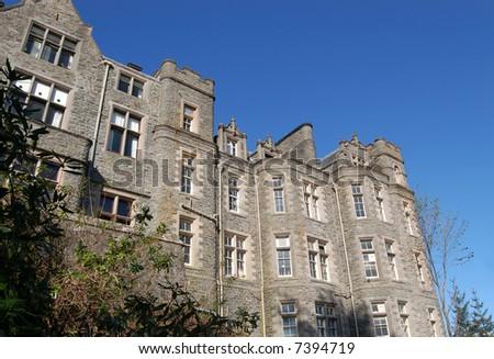Carbisdale Castle, Scotland - stock photo