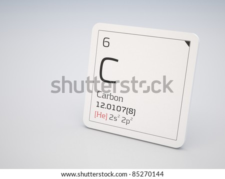 Carbon - element of the periodic table