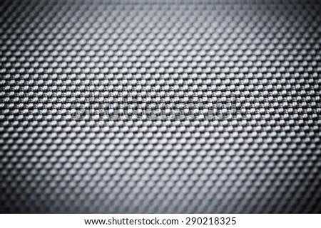 Carbon fiber background, black texture - stock photo
