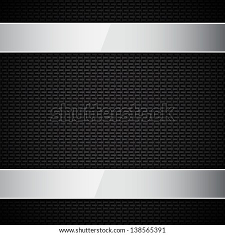 Carbon fiber texture. Raster version of the loaded vector - stock photo