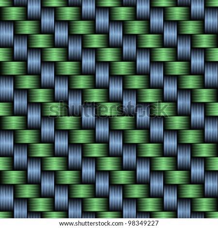 Carbon fiber woven texture - stock photo