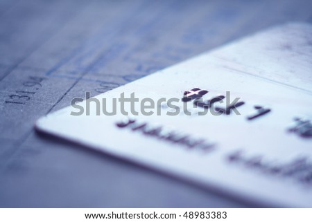 card - stock photo