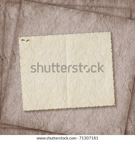 Card for invitation or congratulation on the abstract background - stock photo