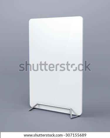 Card holder on grey background - stock photo