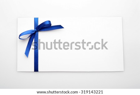 Card isolated on white - stock photo