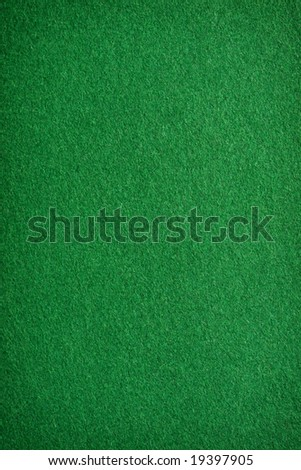 Card table felt background. - stock photo