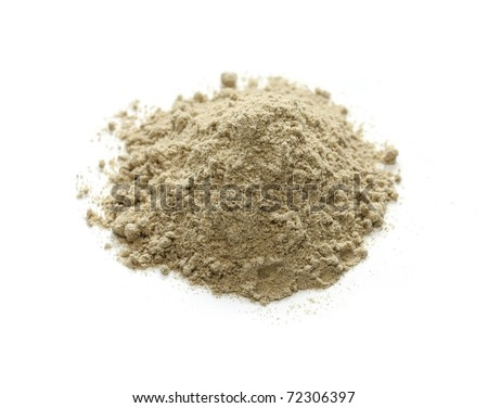 cardamom powder , indian spice - stock photo