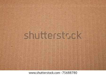 cardboard background - stock photo