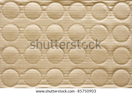 cardboard box background - stock photo