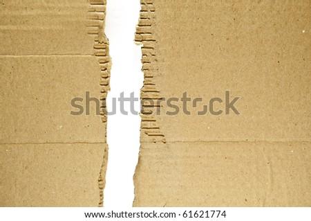 Cardboard Items - stock photo