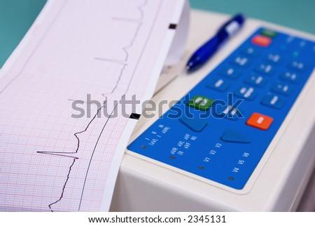 cardiograph - stock photo