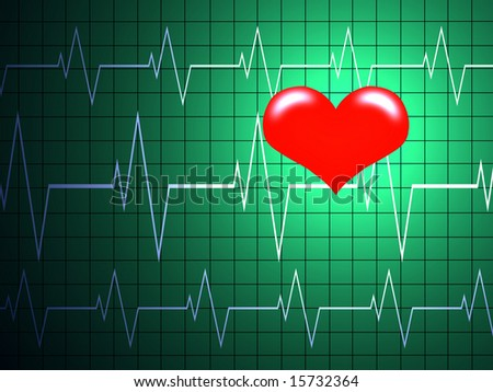 Cardiology concept. - stock photo