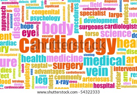 Cardiology Concept for as a Medical Cardiologist - stock photo