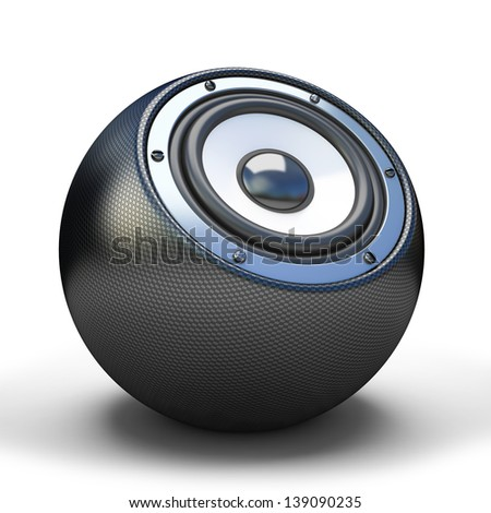 Cardon sphere speaker - stock photo