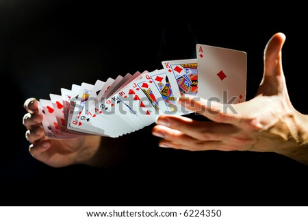 Cards. - stock photo