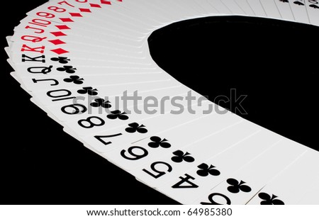 Cards for poker