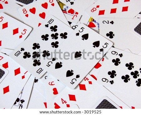 cards texture,  scattered cards,  deck of cards background,