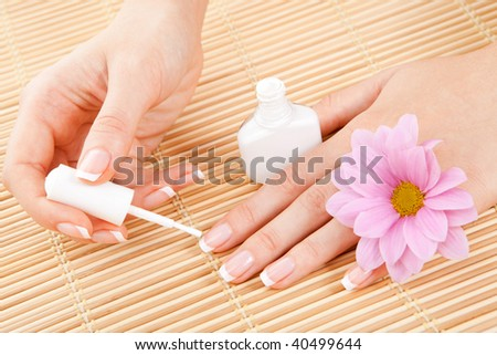 care for beautiful woman hands
