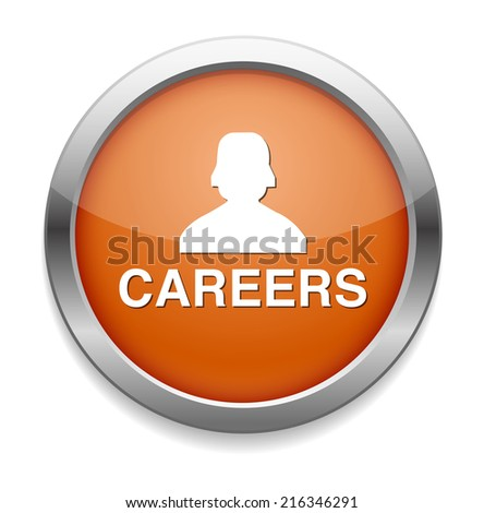 Career button - stock photo
