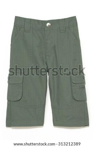Cargo Shorts - stock photo