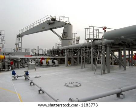 Cargo Vessel - stock photo