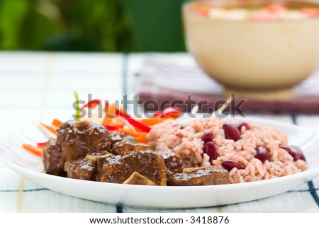 how to cook red beans caribbean style