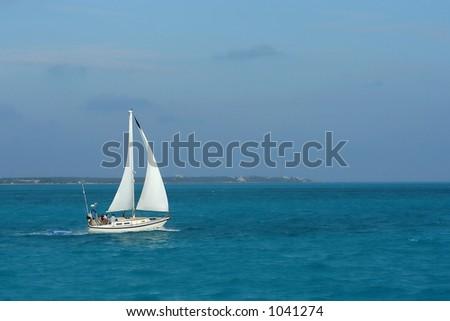 Caribbean vacation - stock photo