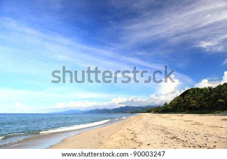 Caribean beach - stock photo