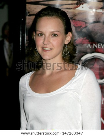 "Carla Gallo Premiere of HBO's Drama Series ""Rome"" Wadsworth Theater Westwood, CA August 25, 2005"