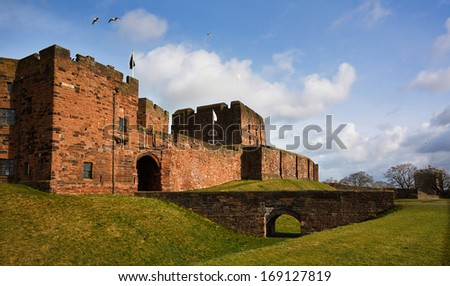 Carlisle Castle - stock photo