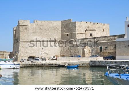 Carlo V Castle. Monopoli. Apulia. - stock photo