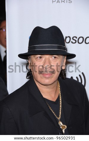 CARLOS SANTANA at music mogul Clive Davis' annual pre-Grammy party at the Beverly Hilton Hotel. February 7, 2006  Beverly Hills, CA  2006 Paul Smith / Featureflash