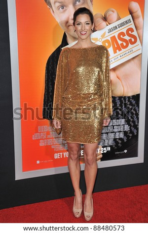 "Carly Craig at world premiere of ""Hall Pass"" at the Cinerama Dome, Hollywood. February 23, 2011  Los Angeles, CA Picture: Paul Smith / Featureflash - stock photo"