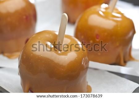 Carmel Apples - stock photo