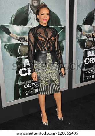 "Carmen Ejogo at the Los Angeles premiere of her movie ""Alex Cross"" at the Cinerama Dome, Hollywood. October 15, 2012  Los Angeles, CA Picture: Paul Smith"