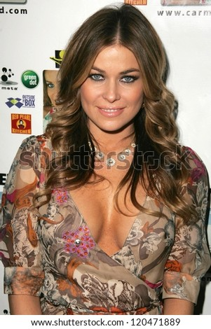 Carmen Electra at the launch party for the Carmen Electra PrePaid MasterCard and the Carmen Electra Gift MasterCard. The Red Pearl Kitchen, Los Angeles, CA. 10-25-06 - stock photo