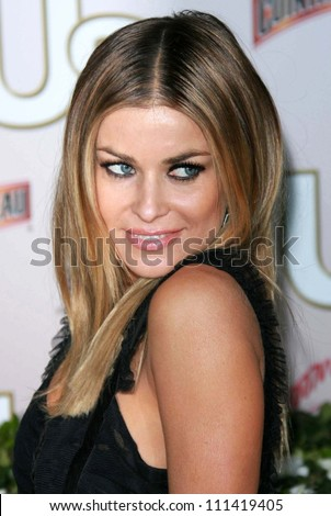Carmen Electra at the Us Hot Hollywood 2007 party presented by Us Weekly. Sugar, Hollywood, CA. 04-26-07