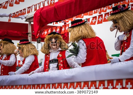 Carnival at Basel Switzerland