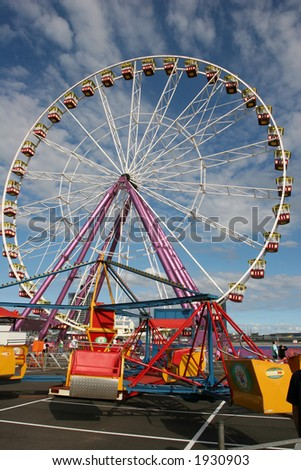 Carnival at Waterfront city (Docklands, Melbourne, Victoria, Australia)