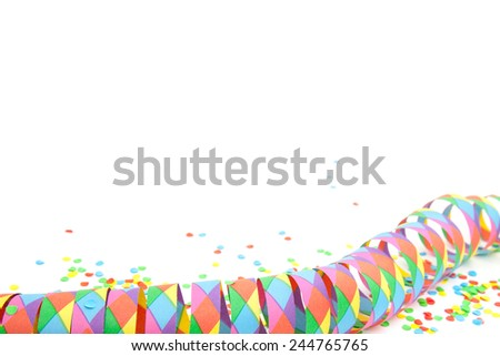 Carnival background template - stock photo