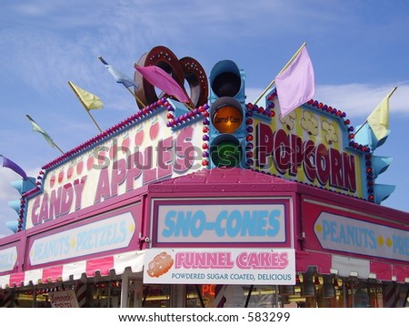 Carnival Food - stock photo