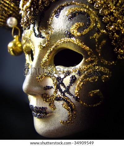 Carnival mask from Venice - stock photo