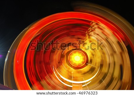 Carnival Night Lights - stock photo