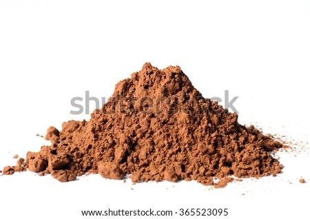 Carob powder, can be used as a substitute for cocoa