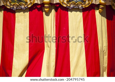 Carousel at Croix District, Lyon, France - stock photo